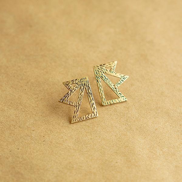 Aros Ra pequeños bronce