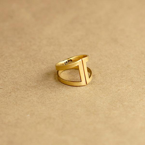 anillo bronce