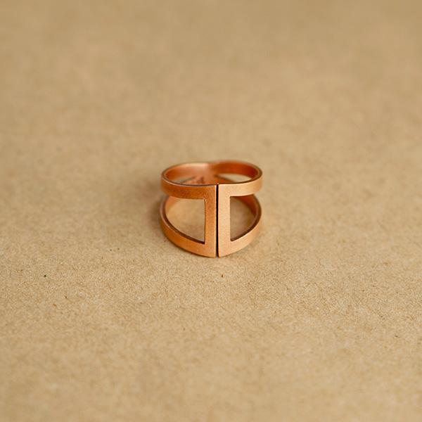 anillo cobre
